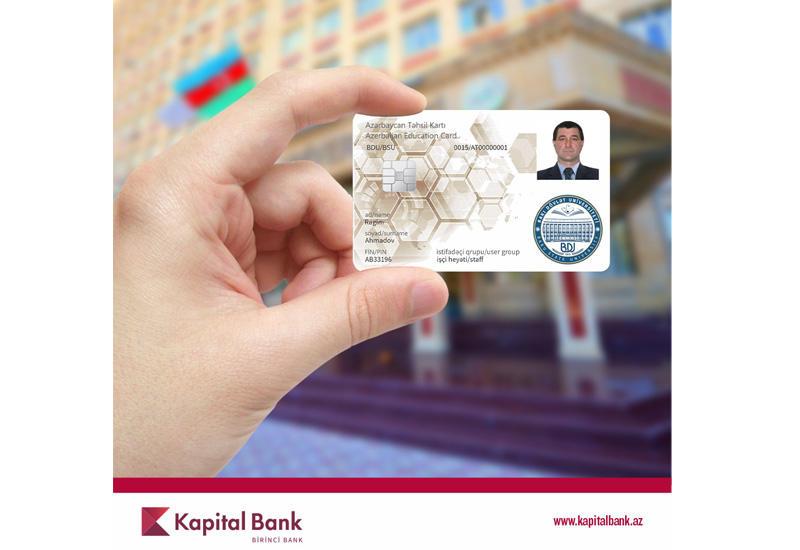 Сотрудникам Бакинского государственного университета также были вручены Образовательные смарт-карты (R)