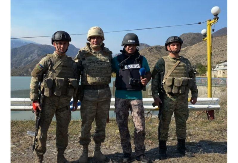 Euronews посвятил репортаж светлой памяти полковника Бабека Самидли, который не вышел в эфир