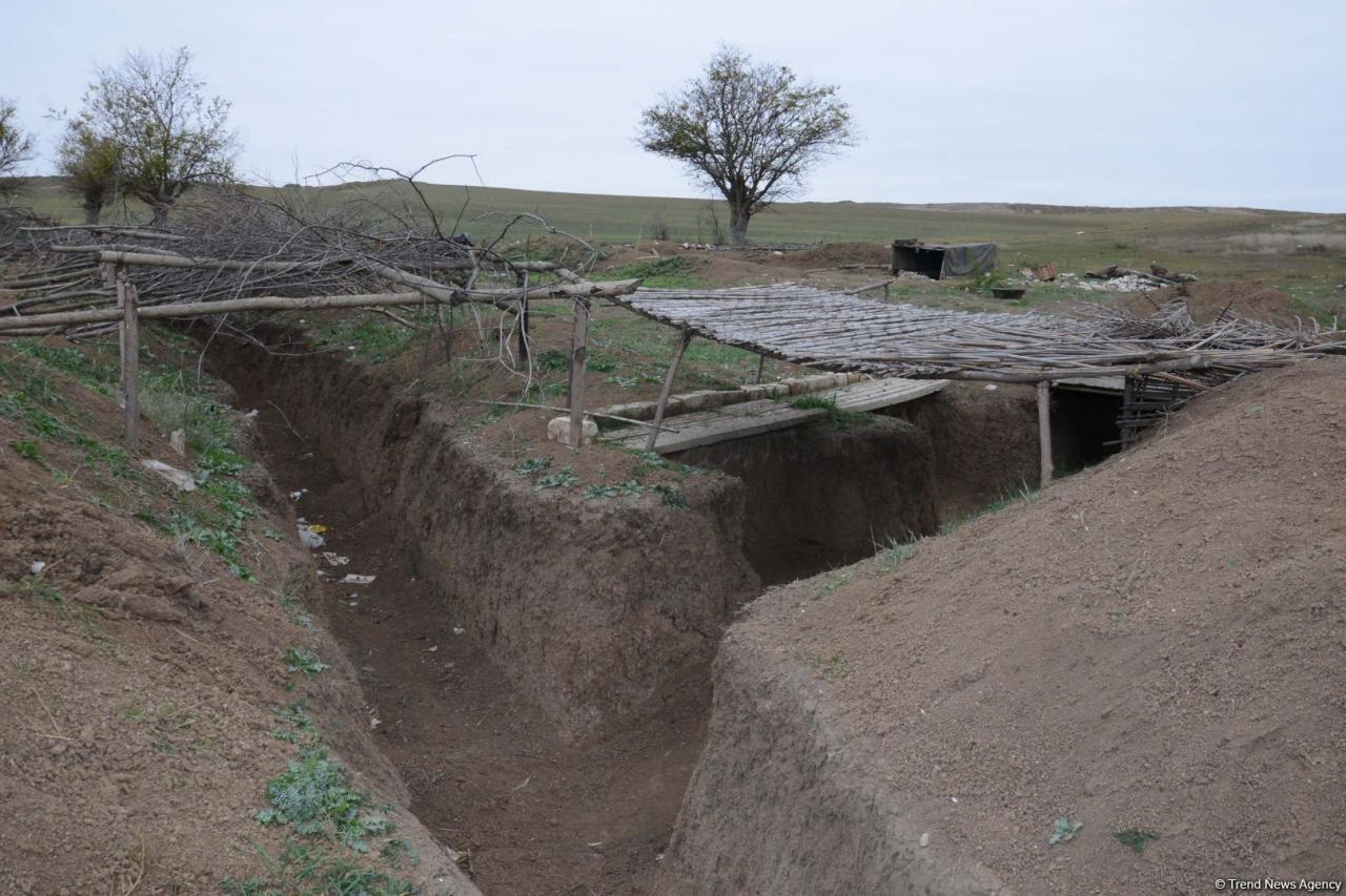 Düşmən Azərbaycan mövqelərini bu ərazidən atəşə tuturdu