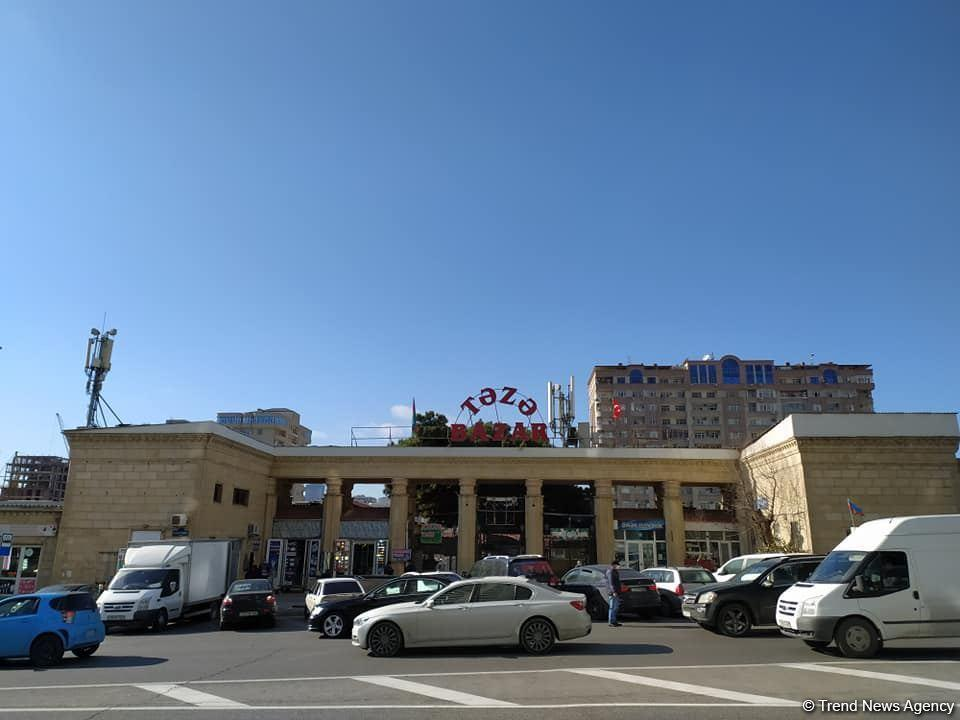 В Баку переносят известный овощной рынок