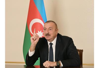 Президент Ильхам Алиев: Народный фронт Азербайджана – основной виновник оккупации наших земель