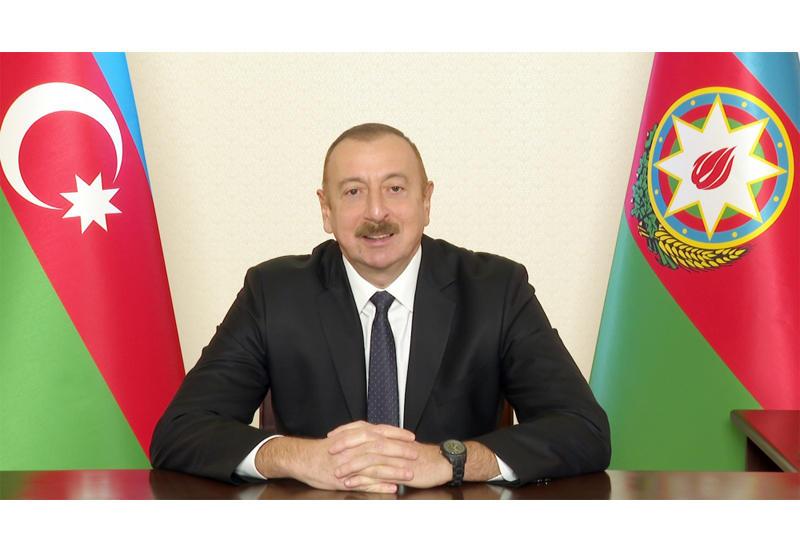 Президент Ильхам Алиев: Уже даны предварительные поручения по восстановлению железной дороги в Нахчыванскую Автономную Республику