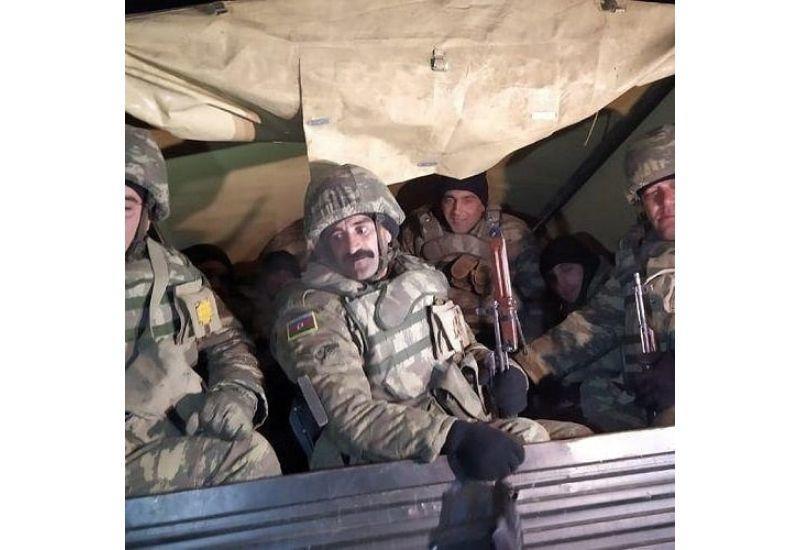Азербайджанская армия в Кельбаджаре