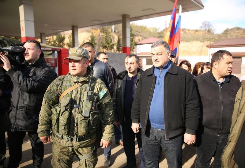 Армяне выступили против российских миротворцев