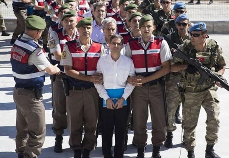 Участники попытки госпереворота в Турции получили пожизненные сроки