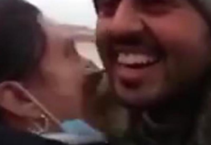 Трогательные кадры: азербайджанский солдат вернулся домой с войны