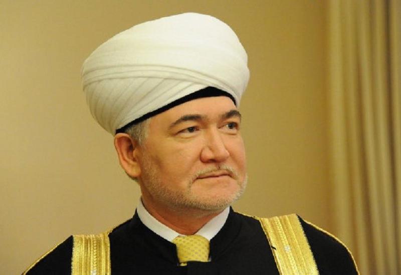 Председатель Духовного управления мусульман России поздравил Президента Ильхама Алиева