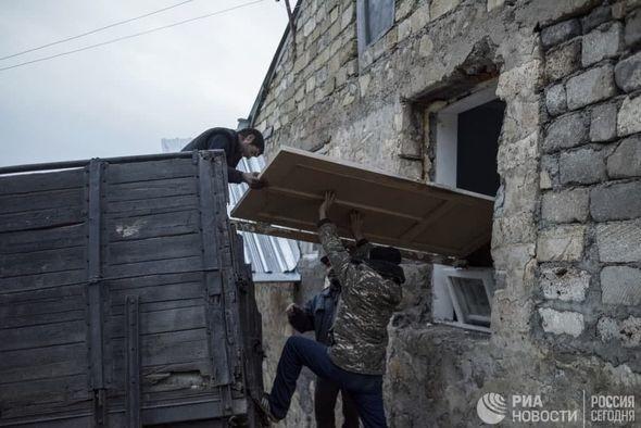 Армянский вандализм в Лачине в объективе российских СМИ