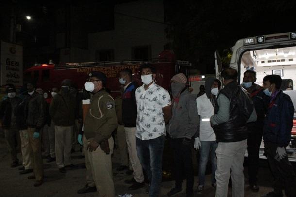 Пожар в COVID-больнице в Индии, есть жертвы