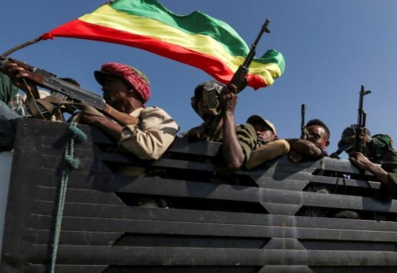 """Эфиопская армия начала наступление на """"столицу"""" повстанцев"""