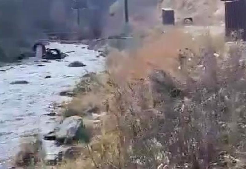 Кадры освобожденного от армянской оккупации Истису Кельбаджарского района