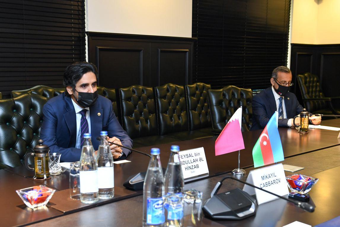 Микаил Джаббаров предложил катарским компаниям реализовывать совместные проекты в Азербайджане