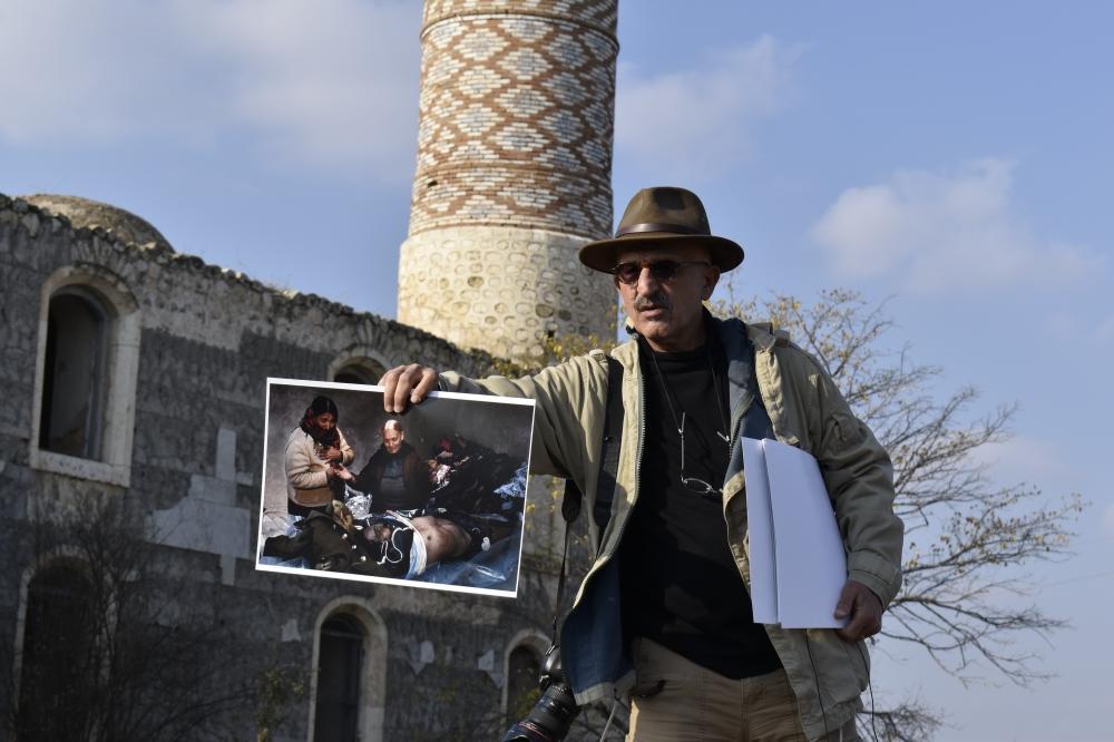 В Агдаме прошла мобильная выставка известного фотографа Реза Дегати