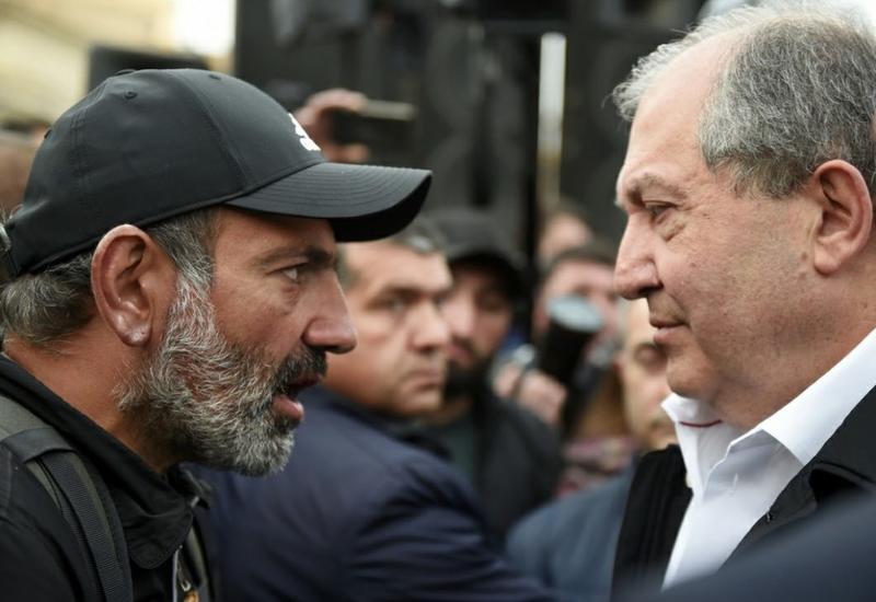 Президент Армении едет в Москву свергать Пашиняна