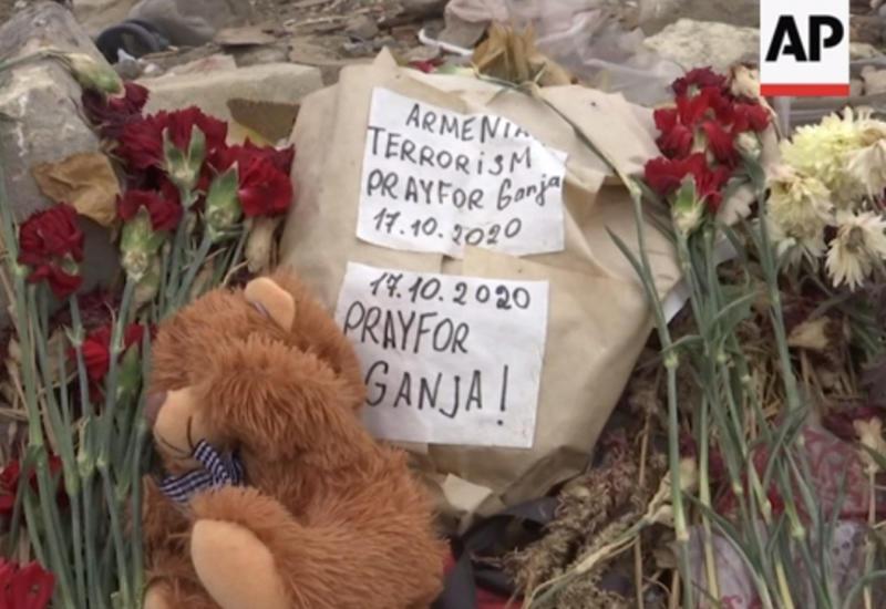 Ужасные последствия ракетной атаки на Гянджу со стороны Армении
