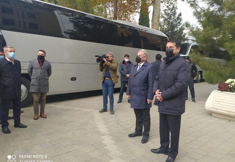 Представители дипкорпуса увидели последствия беспощадных ракетных обстрелов со стороны Армении