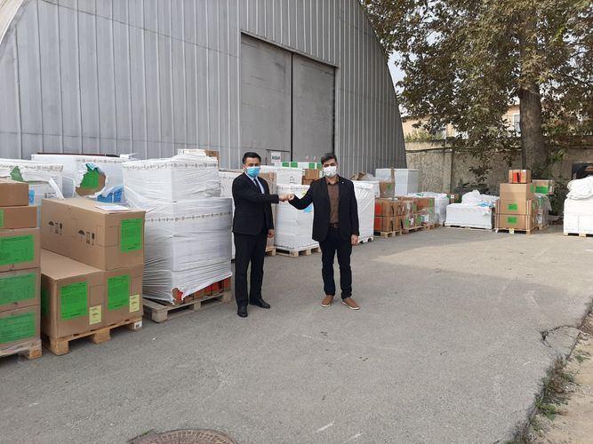 Комитет красного креста пожертвовал TƏBİB 10 комплектов для помощи раненым в боях