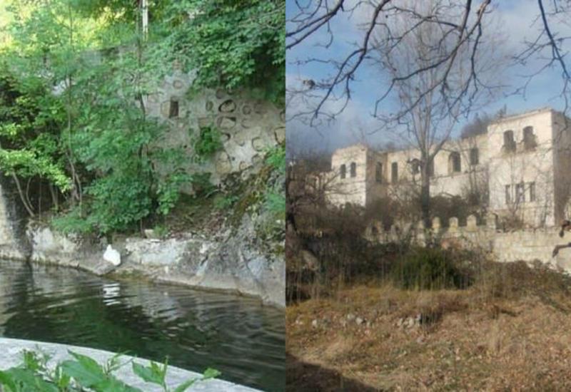 Парк Туршсу в Шуше до и после армянской оккупации