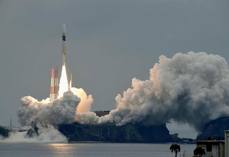 Япония запустила ракету со спутником для высокоскоростной передачи данных
