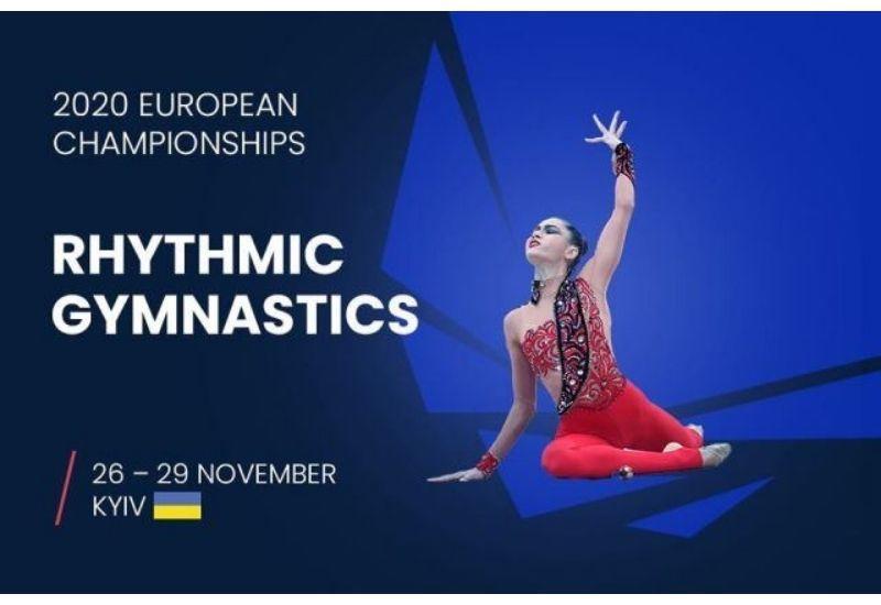 Азербайджан завоевал три медали на чемпионате Европы по художественной гимнастике в Киеве