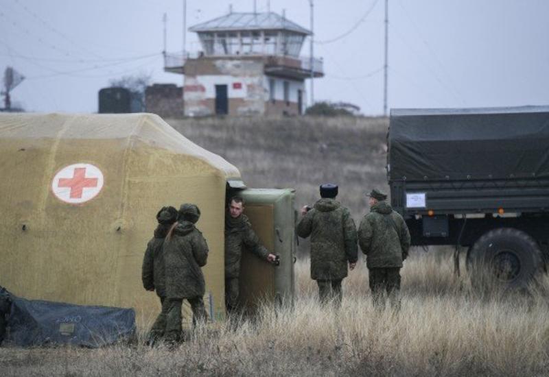 Российские военные развернули полевой госпиталь в Карабахе