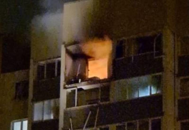 Последствия взрыва в жилом доме под Петербургом