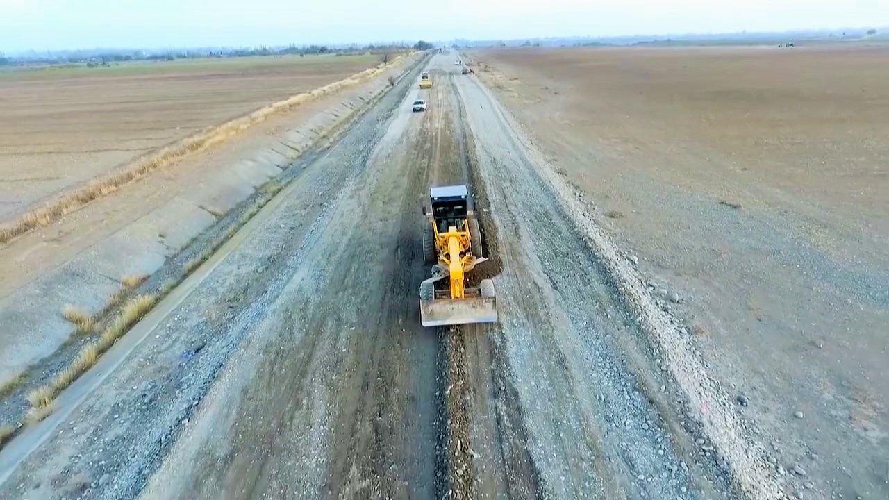 Дорога, соединяющая Тертер и Суговушан, очень скоро будет сдана в эксплуатацию