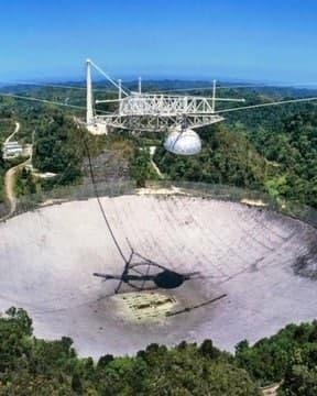 В Пуэрто-Рико обрушился знаменитый телескоп «Аресибо»