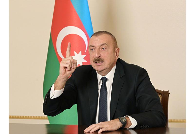 Президент Ильхам Алиев: Когда Лачинский район подвергся оккупации, в Баку шла борьба за власть