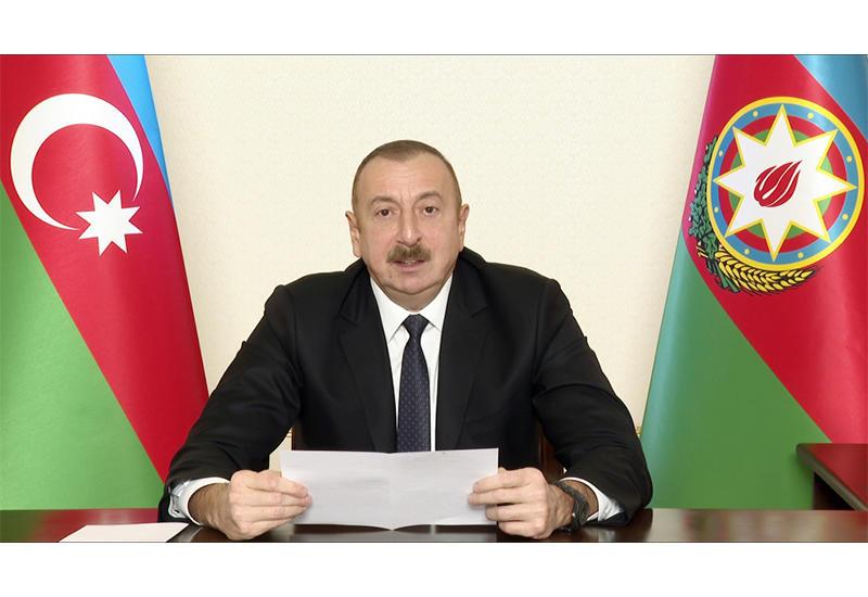 Президент Ильхам Алиев: Армения считала, что весь Лачинский район должен быть отдан им в качестве коридора, некоторые западные круги поддерживали эту позицию