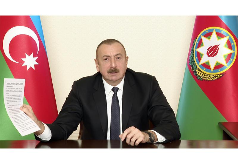 Президент Ильхам Алиев - сенату Франции: Отдайте город Марсель, измените его название, создайте армянам там второе государство