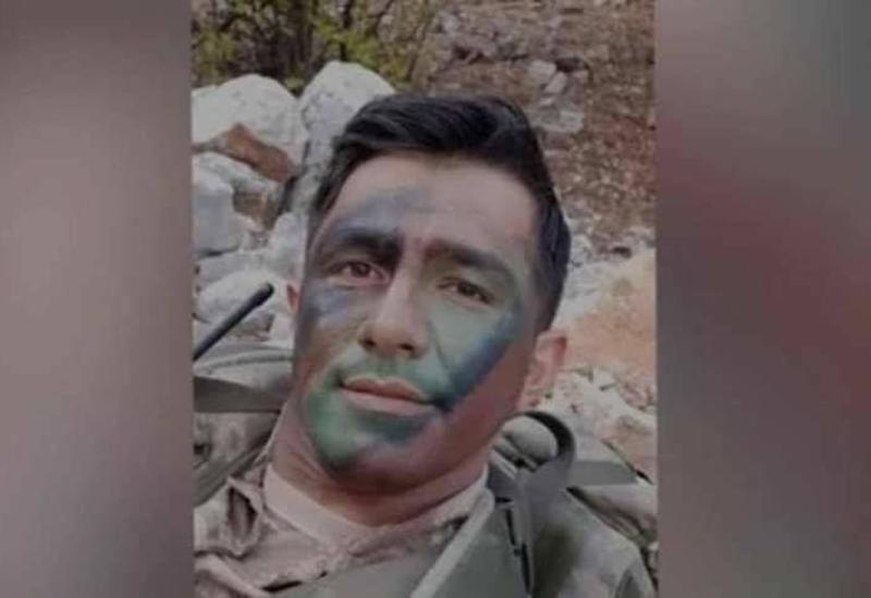 Магазин от автомата спас азербайджанского офицера