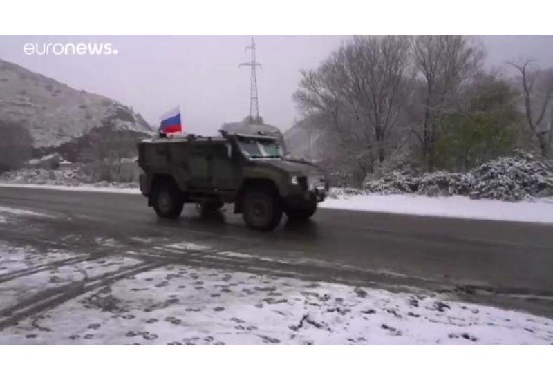 """Бронеавтомобиль КАМАЗ-53949 """"Тайфун 4х4"""" в Нагорном Карабахе"""