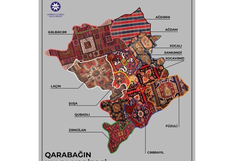 """Уникальные ковры, отмеченные на """"Ковровой карте Карабаха"""", можно увидеть воочию"""