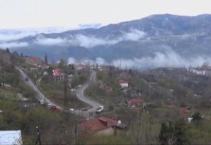 Азербайджанцы возвращаются в Лачинский район