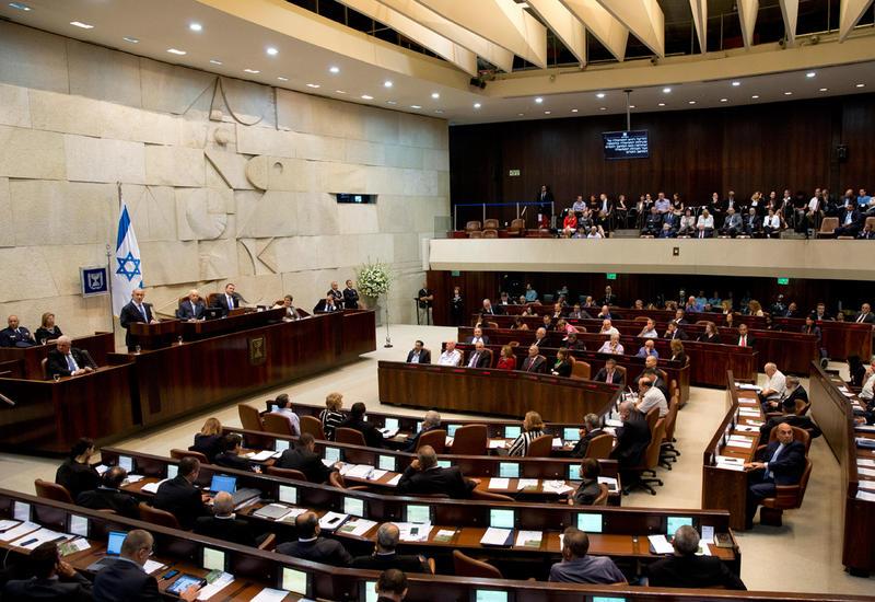 Парламент Израиля принял в предварительном чтении законопроект о самороспуске
