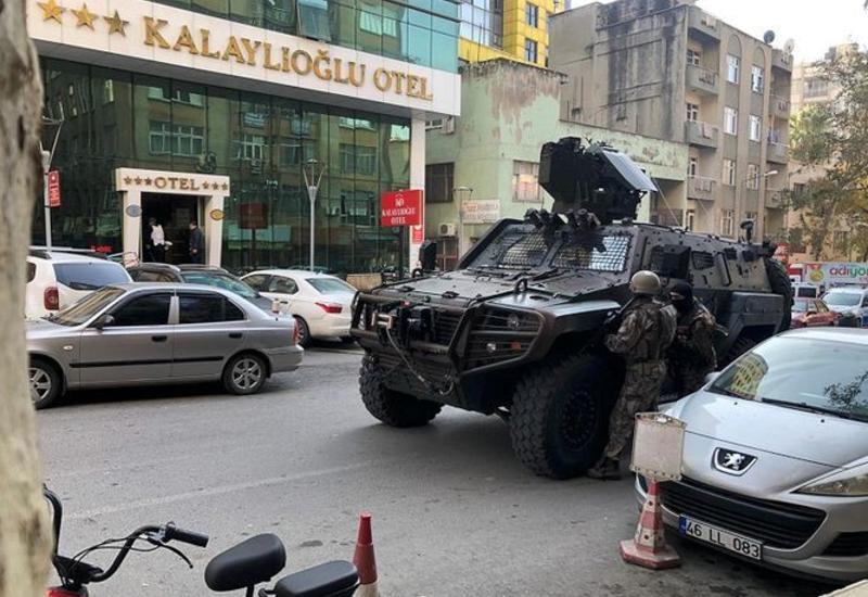 Вооруженный инцидент в турецком отеле, есть раненые