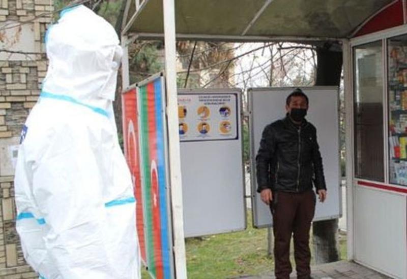 В Шеки задержали коронавирусного больного, покинувшего место жительства