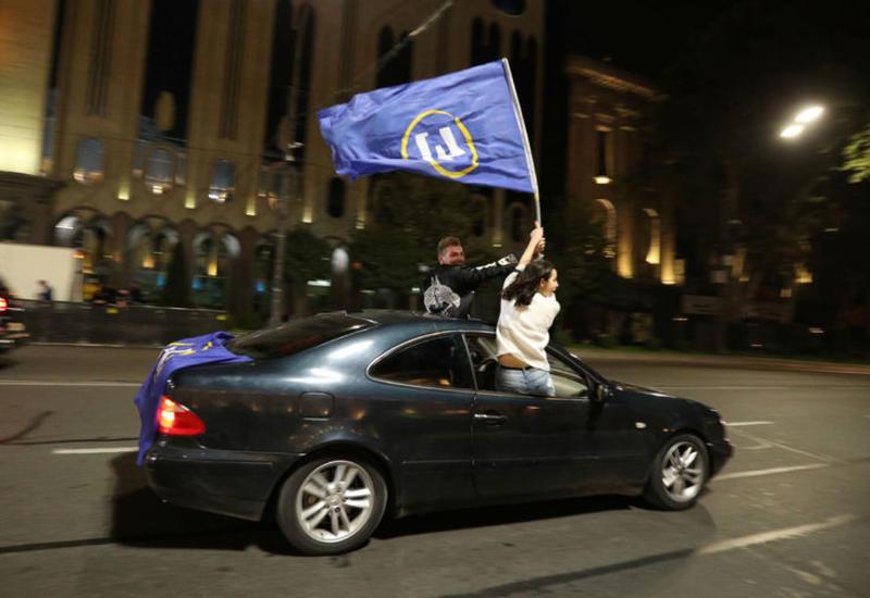 Правящая партия Грузии выиграла парламентские выборы