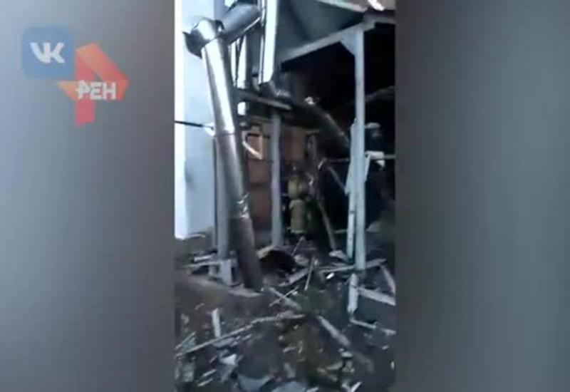 Взрыв на трикотажной фабрике в России, есть пострадавшие