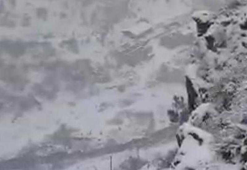 Невероятная красота заснеженных гор освобожденного Кельбаджара