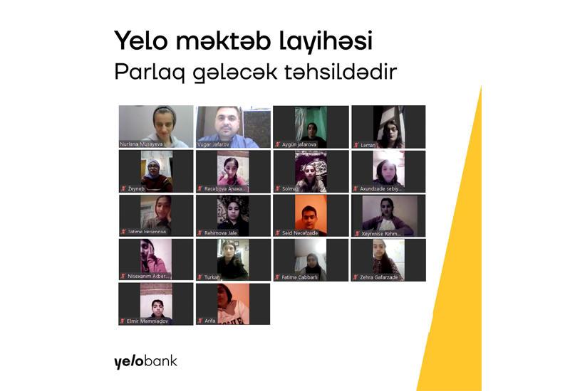 Yelo Bank запустил вторую часть социального проекта «Yelo school»