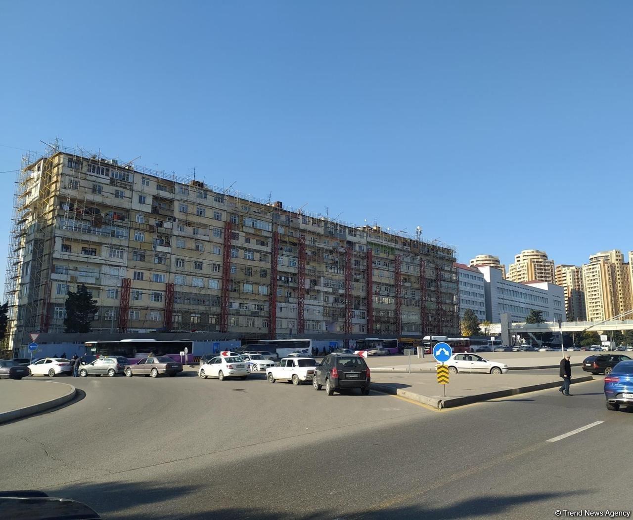 Обустраивается северный въезд в Баку