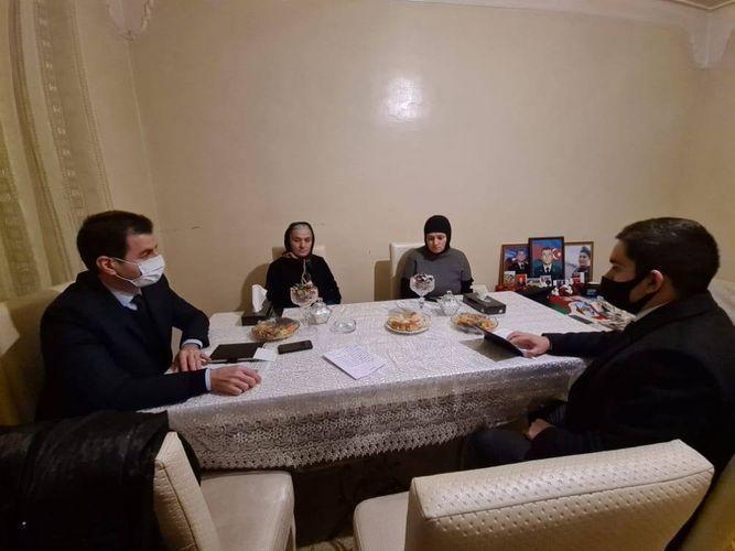 Семье шехида Худаяра Юсифзаде построят дом