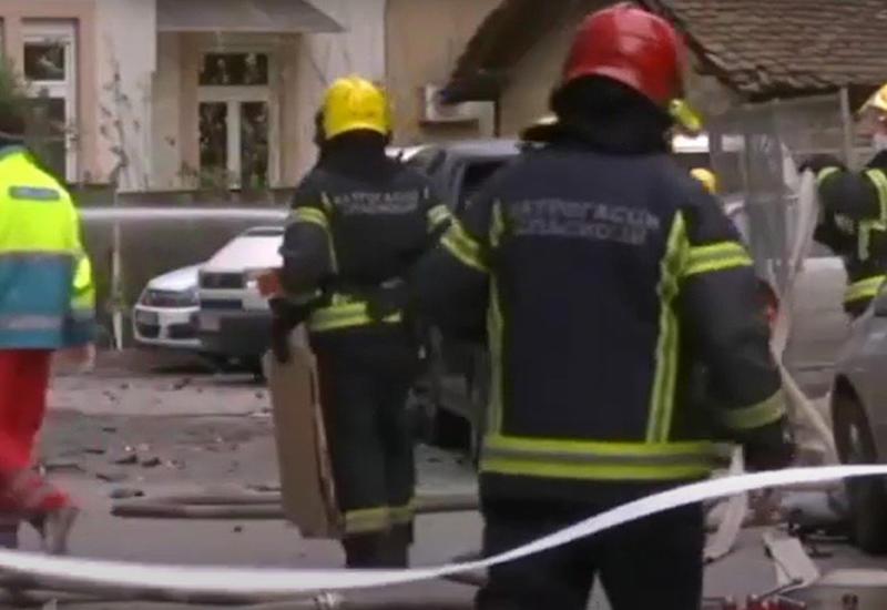 В Белграде прогремел взрыв у телецентра