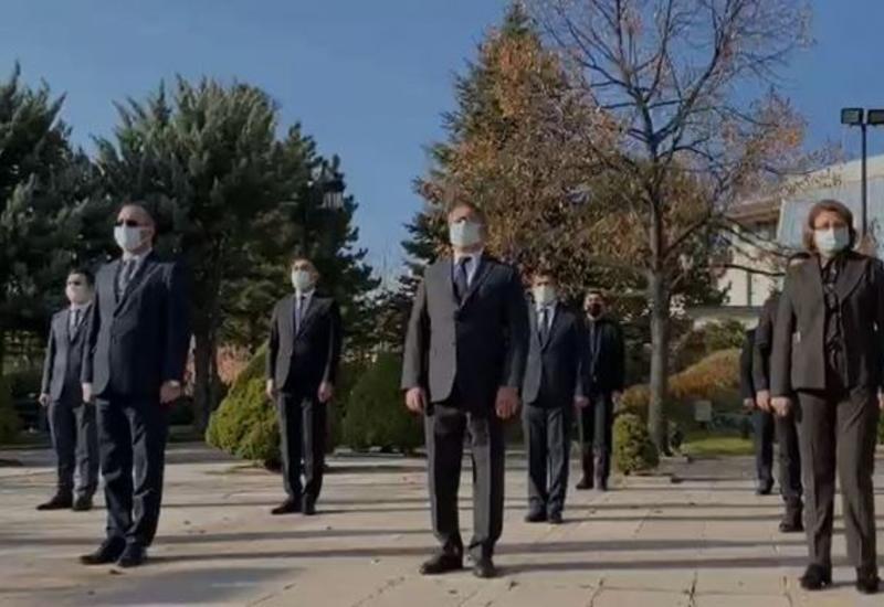 В Анкаре почтили память шехидов Отечественной войны