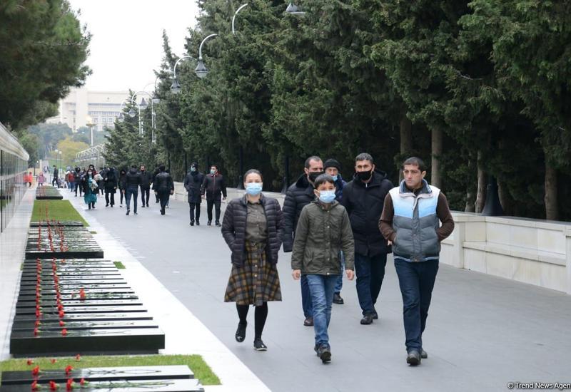 Общественность Азербайджана почтила память шехидов Отечественной войны