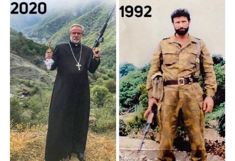 Армяне сделали террориста настоятелем монастыря в Карабахе