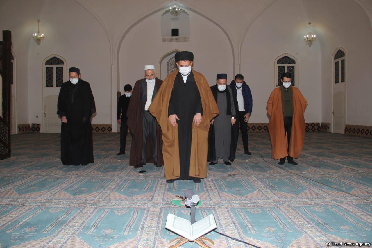 Религиозные деятели Гянджи почтили память шехидов Отечественной войны