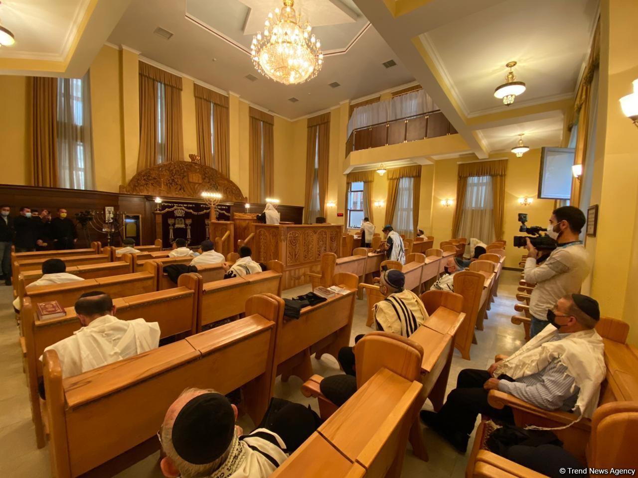 Община горских евреев Азербайджана почтила память шехидов Отечественной войны